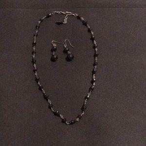 Jewelry - Authentic onyx set